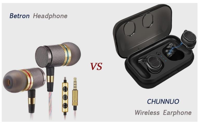 2019-Chunnuo-wireless-earphone-bluetooth-headphone
